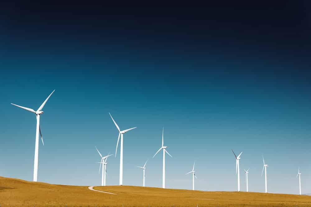 Windmills, wind energy