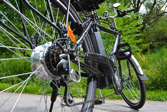 E-bike components